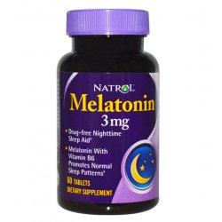 Melatonina Natrol 3mg 100 caps