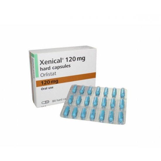 Xenical 120 mg (84 cápsulas)
