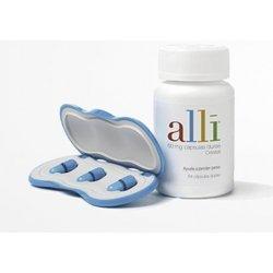 Cápsulas Alli para bajar peso