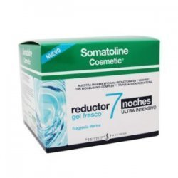 Somatoline Cosmetic Reductor Gel Fresco 7 Noches Ultra Intensivo 400 Ml